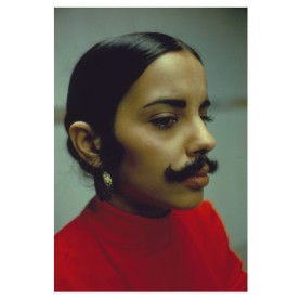 Ana Mendieta, Facial Hair Transplants, 1972. Détail.
