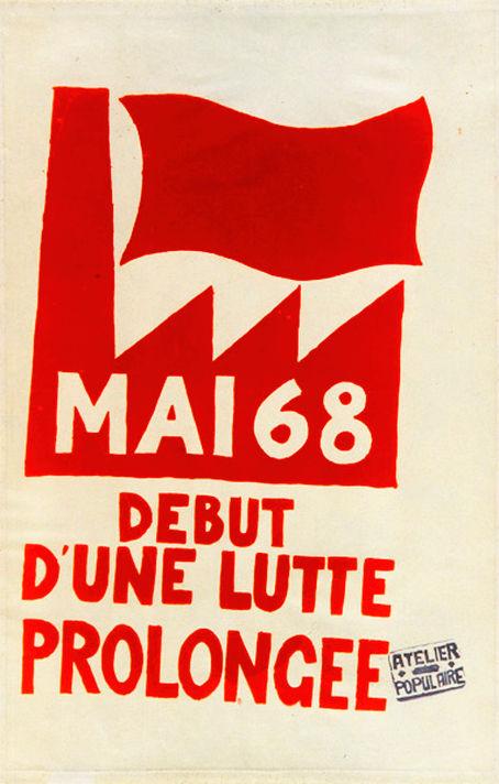 Αποτέλεσμα εικόνας για Mai '68 La lutte continue afisse