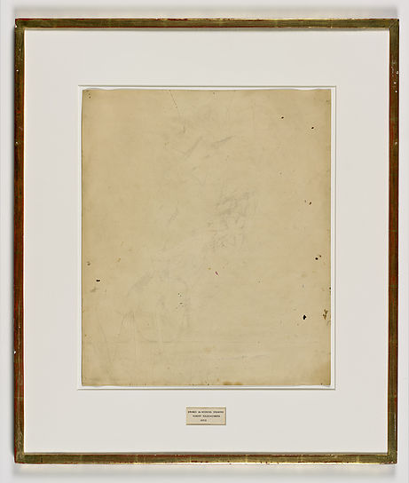 Erased-de-Kooning-Drawing-Robert-Rauschenberg