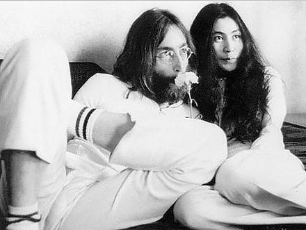 Yoko Ono et Lennon