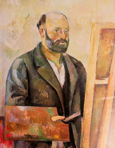 Cézanne-autoportrait