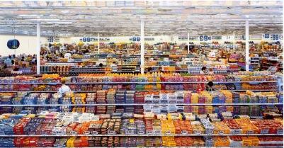99 cent, Andréas GURSKY, 1999 Photographie 2/3,37 m