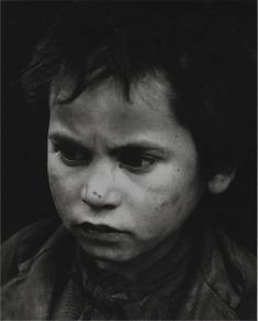 Petit mendiant, Tolède, Espagne, 1949