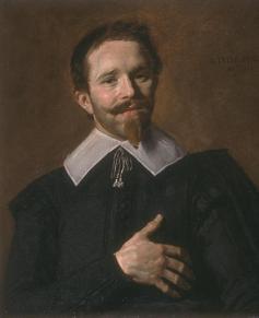 L'homme à la main sur le coeur, 1632, 62 x 52cm, (c.) Catalogue Joconde