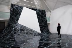 Matière Noire, Baptiste Debombourg, La Chaufferie, Galerie de la Hear, à Strasbourg, 2015