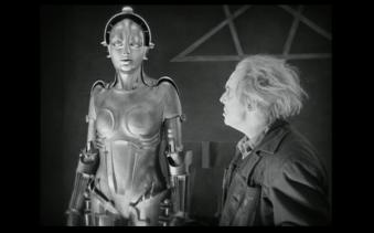 Métropolis, film de Fritz Lang, 1927. Domaine public.