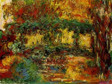 Claude Monet, Le Pont Japonais,1918, huile sur toile, 116 x 89 cm, (C.) The Minneapolis Institute of Art