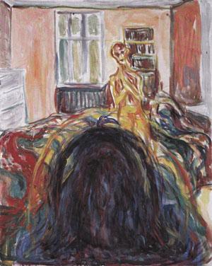 Edvard Munch, La Vision perturbée, 1930, huile sur toile, 80 x 64 cm, (C.) Musée Munch