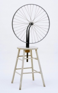 Roue de bicyclette, Marcel Duchamp, 1913/1964.