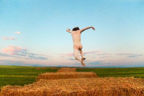 Ryan McGinley, Hay Hop, 2014. (C.) Ryan McGinley