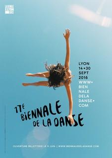 Ryan McGinley, Affiche de la biennale de la danse, Lyon, 2016. (C.) Biennale de la danse