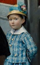 Dagnan-Bouveret, Une noce chez le photographe, 1878-1879, détail