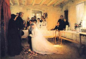 pascal_dagnan-bouveret_benediction-couple-avant-mariage-1880