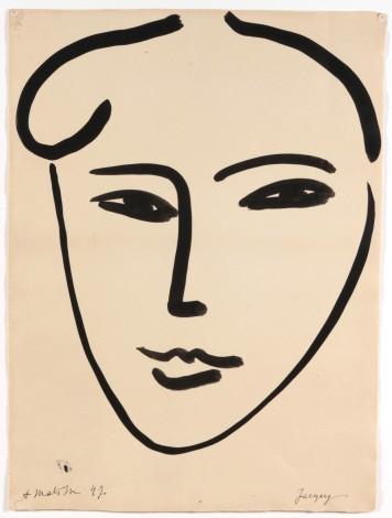 Henri Matisse, 1947, Jackie, © 2016 Succession H. Matisse / Photo © DR.