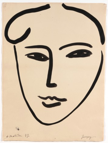 Henri Matisse, 1947, Jackie, © 2016 Succession H. Matisse / Photo © DR.