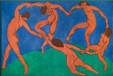 La danse, 1910, huile sur toile, 2,6 m x 3,91 m, (C) Succession H. Matisse, © The State Hermitage Museum, Vladimir Terebenin