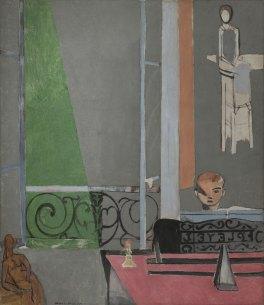 La leçon de piano, 1916, huile sur toile, 245.1 x 212.7 cm, © 2016 Succession H. Matisse / Artists Rights Society (ARS), New York
