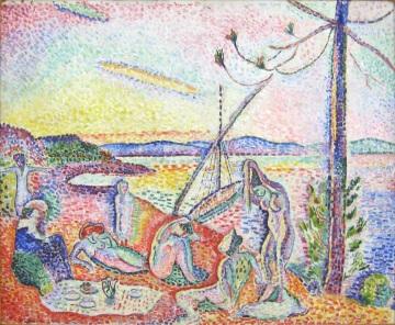Luxe, calme et volupté. 1904, Huile sur toile, 98,5 x 118,5 cm, © Succession H. Matisse