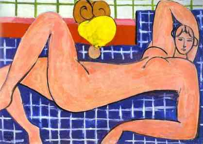 Matisse, Grand nu couché, huile sur toile, 66 x 92,7 cm, ©The Baltimore Museum of Art