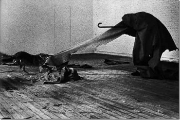Joseph Beuys, I Like America and America Likes me, 1974, New York, Galerie René Block Photo credit Caroline Tisdall © DACS 200.