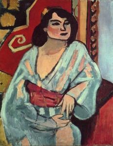 henri matisse, 1909, l'algerienne