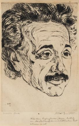 Hermann Struck, Albery Einstein, 1918