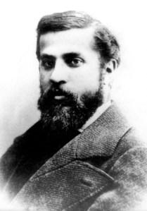 Antoni Gaudi, portrait jeune. Photo par Junta Constructora del Temple Expiatori de la Sagrada Familia