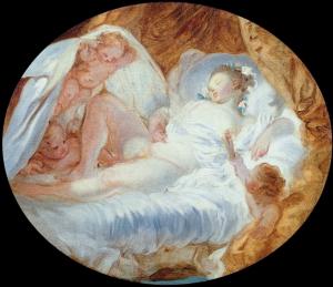 Fragonard, Le feu aux poudres, 1778