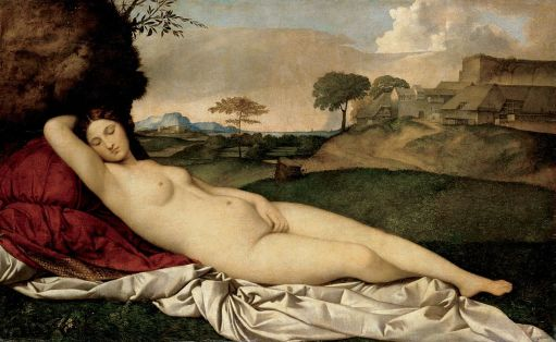 Giorgione, Vénus endormie, 1510