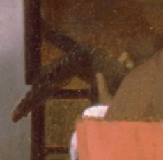 Johannes Vermeer, Le Concert, détail, le luth