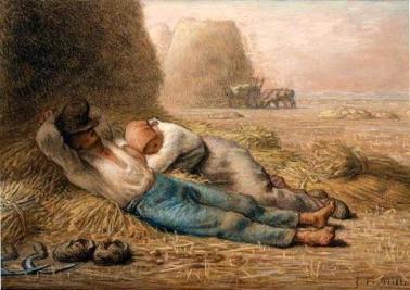 Jean-François Millet, La méridienne, 1866