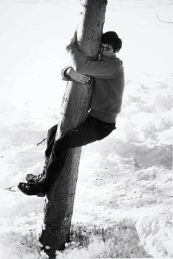 Giuseppe Penone, Rappeler le contact, 1968