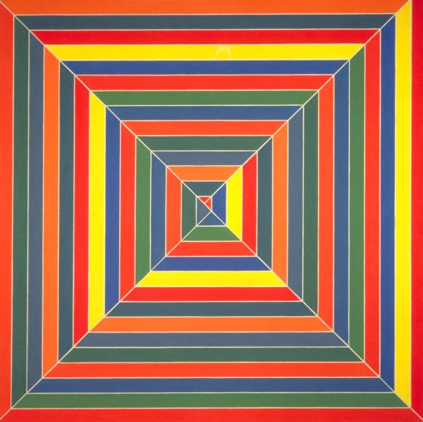 Hyena Stomp 1962 by Frank Stella