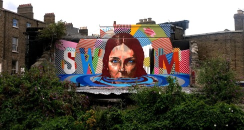 Fintan Magee, Maser New Mural à Dublin, Ireland