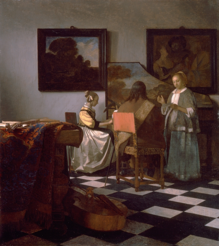 Johannes Vermeer, Le Concert