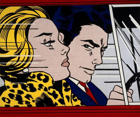 in-the-car-Lichtenstein
