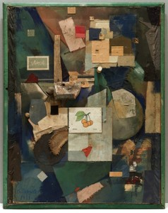 Kurt Schwitters, Merz Picture 32 A. The Cherry Picture, 1921.
