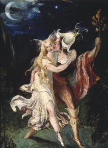 The Fairy Lovers, Theodor von Holst, vers 1840