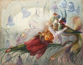 The Realms of Fairydom - John Anster Fitzgerald (date inconnue)