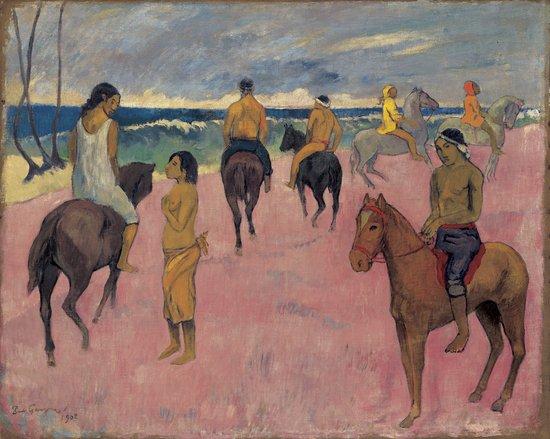 cavalier-plage-gauguin
