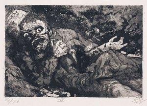 Soldat blessé, Otto Dix, (automne 1916, Bapaume), 1924