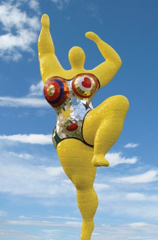 Niki de Saint Phalle, Nana jaune