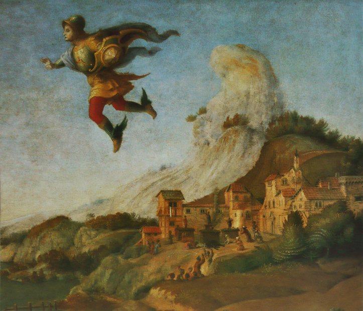 Piero Di Cosimo, Andromède libérée par Persée, 1510, détail