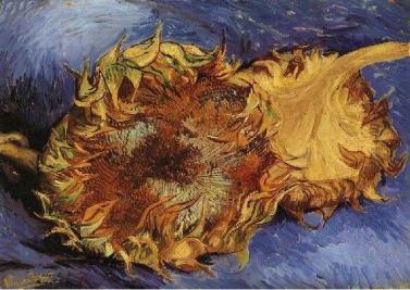 Tournesols (deux), Vincent Van Gogh, 1887. Huile sur toile, 43 x 61 cm, New York, The Metropolitan Mueum of Modern Art