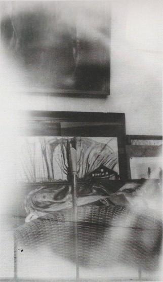 Edvard Munch, Métabolisme avec des effets d'ombre et de réflexions, Ekely, 1931-2. Epreuve gélatino-argentique, 14,5 x 9 cm.