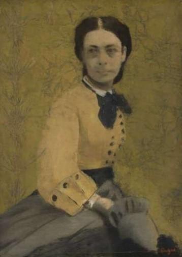 Edgar Degas, Princesse Pauline de Metternich, 1865.