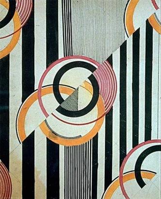 Liubov Popova, motif destiné au textile, 1924, crayon et encre sur papier, 23,4 x 19,1 cm, (C.) Tate