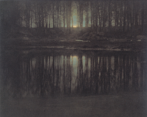 Edward Steichen, The Pond - Moonrise, 1904