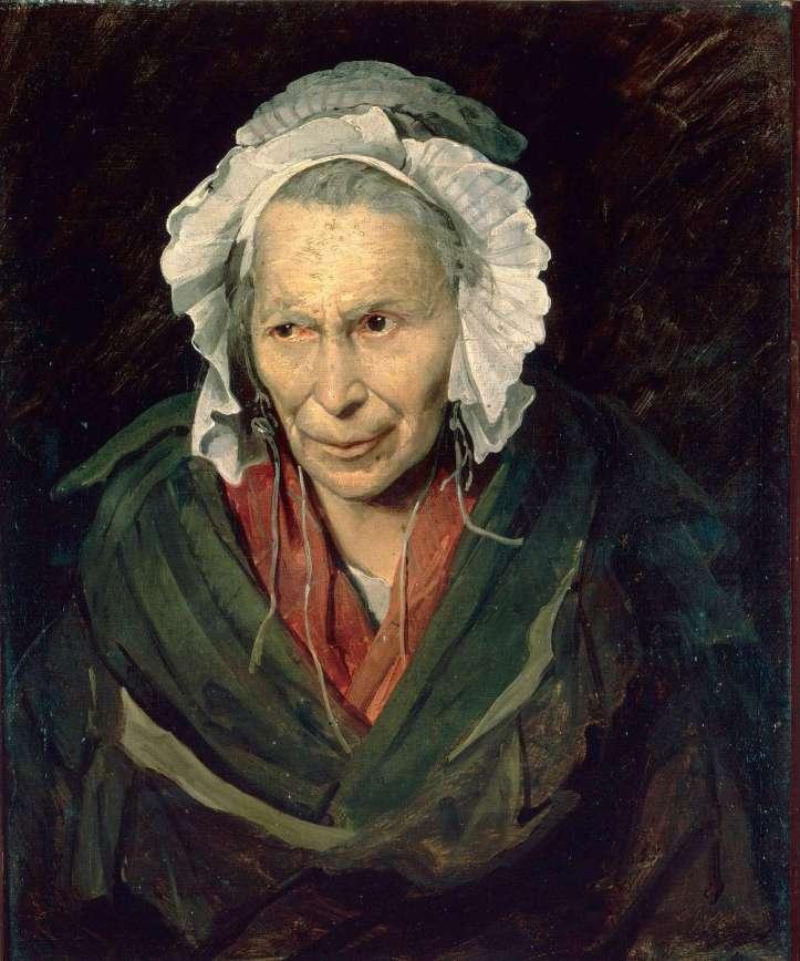 Géricault, La Monomane de l'envie, vers 1819-1820