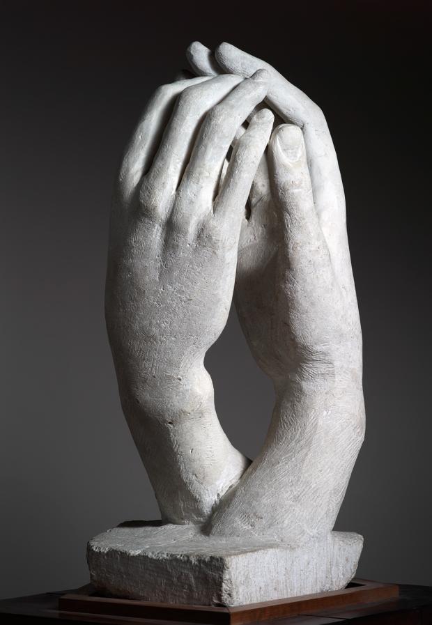 Auguste Rodin, Cathédrale, 1908